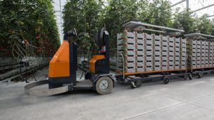 AGV Elektroschlepper Gartenbau