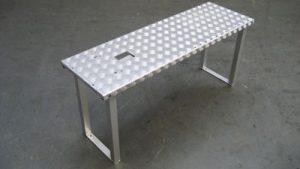 Aluminium erhoh plattform Gartenbau