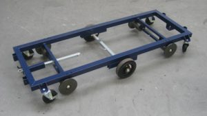 Transport Trolley Stahl