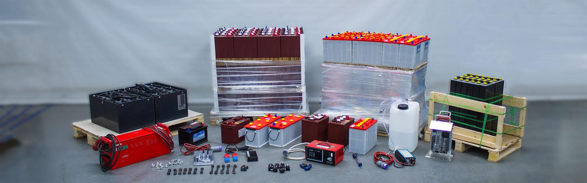 Batterien, Ladegeräte und Zubehör